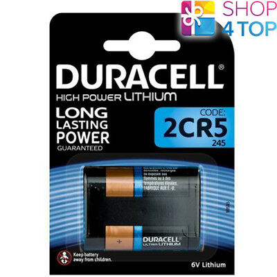 Duracell 2Cr5 Lithium Battery 6V Dl245 Photo Camera Exp 2027 New