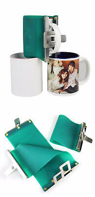 2 x Mug Wrap f. 11oz Fototasse Sublimation + Anleitung Alternative Becherpresse