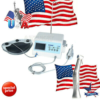 US Dental Implant System Drill Brushless Motor A-CUBE &20:1 Implant Contra Angle