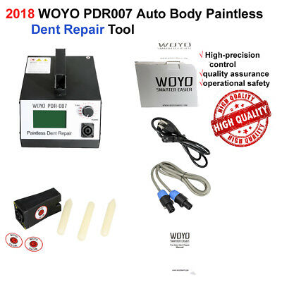 2018 WOYO PDR007 Auto Body Paintless Dent Repair Device 110V/220V Optional