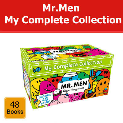 Mr Men My Complete Collection 48 Books Box Set by Roger Hargreaves Pack NEW