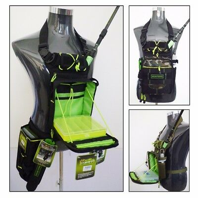 Multifunction Fishing Tackle Storage Bags Waist Chest Bag Fly Fishing Rod Bag
