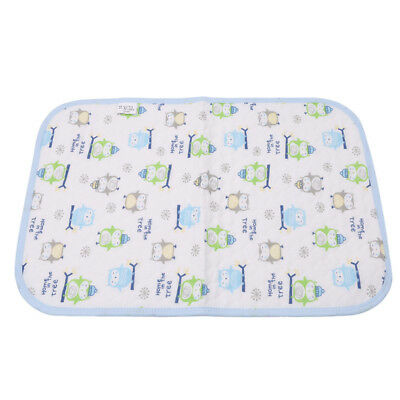 Reusable Waterproof Stroller Diaper Folding Mat Washable Baby Changing Pad HO