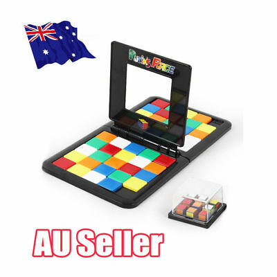 Rubiks Race Board Game Ultimate Face To Face Strategy Puzzle Toy Kids Child NW