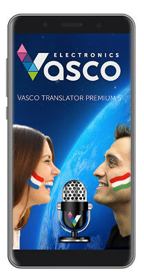 "Vasco Translator Premium 5"" Electronic Voice Translator - 50 Languages"