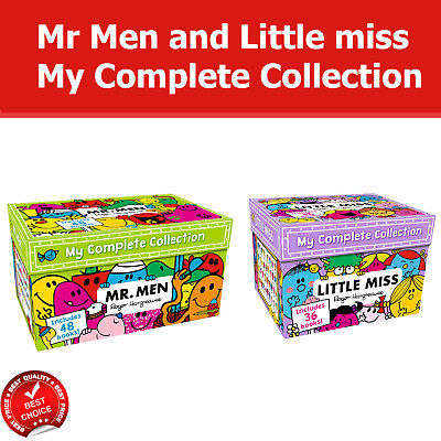 Mr Men and Little miss My Complete Collection 84 Books Box set Pack NEW