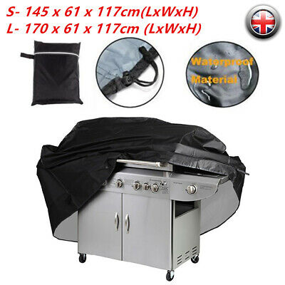 Large BBQ Cover Heavy Duty Rain Snow Waterproof Barbeque Grill Protector S/L cck