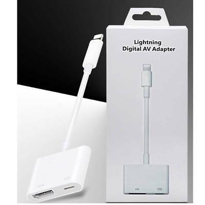 Lightning To HDMI Digital AV TV Cable Adapter For Apple/iPad/iPhone 6 6s 7 Plus