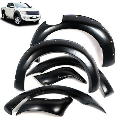 For Ford Ranger 2012-2015 PX1 T6 Wide Body Wheel Arch Black Fender Flare