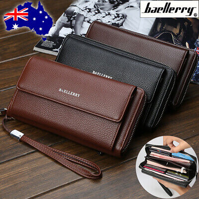 For Samsung S10+ S10e S10 S9 Note 9/8 Universal Leather Zipper Wallet Case Cover