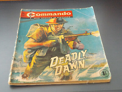Commando War Comic Number 31!,1962 Issue,good For Age,56 Years Old,very Rare.