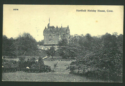 Postcard - Harfield Holiday House,Cove, Dumbartonshire -1926