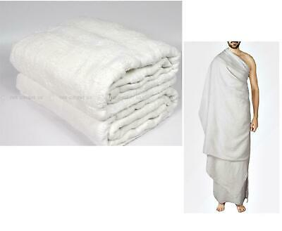 CLEARANCE Ihram Cloth Towel 100% Cotton Ehram Adult Size Luxury Ahram Hajj