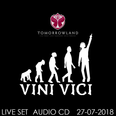 Vini Vici - Live @ Tomorrowland 2018 - 27-07-2018   AUDIO CD