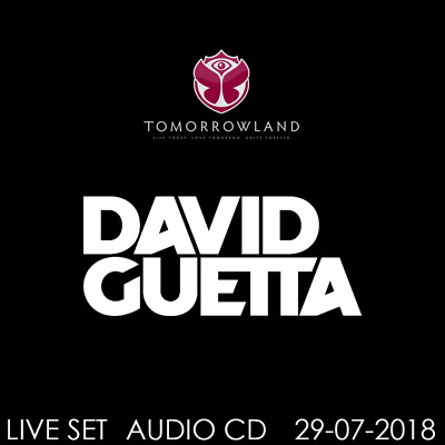 David Guetta - Live @ Tomorrowland 2018 (Belgien) 29-07-2018  AUDIO CD