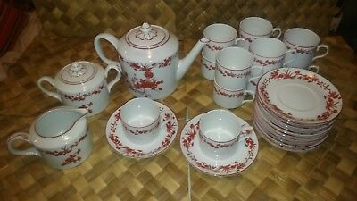Tea Set 15 Pieces VISTA ALEGRE collection GOA - Brand New