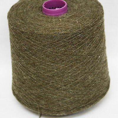 Shetland Weaving Yarn - Colour Kelp - various cone weights