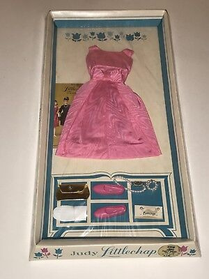 Vintage 1963 #1110 JUDY LITTLECHAP Pink Party Dress Outfit Ensemble NEW REMCO