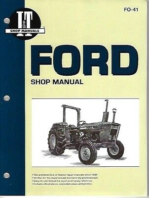 FORD 2300, 2600, 3600, 4100, 4600 + '10' Series TRACTOR WORKSHOP MANUAL