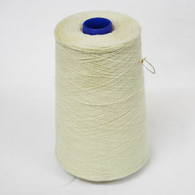 Shetland Weaving Yarn - Colour White - various cone weights