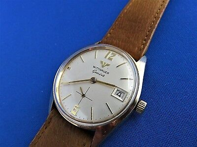 e9d04d7458ec Vintage 1960s LONGINES WITTNAUER WATCH Co. SWISS MECHANICAL MEN S Wrist  Watch