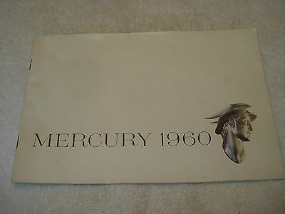 Nice 1960 Mercury 24-page Sales Brochure