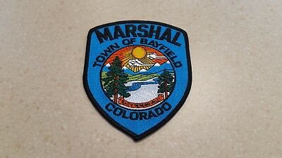 Town Of Bayfield, Colorado Marshal Police Shoulder Patch Co
