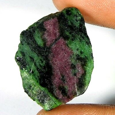 100% Natural Red Green Ruby Zoisite Fancy Rough Cabochon Gemstones