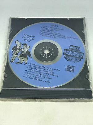 Musical Instruments & Gear Collection Here Music Maestro Karaoke Pop Hits Of Today Vol 16 Cd+g #6345