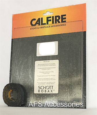 Calfire Replacement Stove Glass Hunter TELFORD FREE Thermal Tape ...