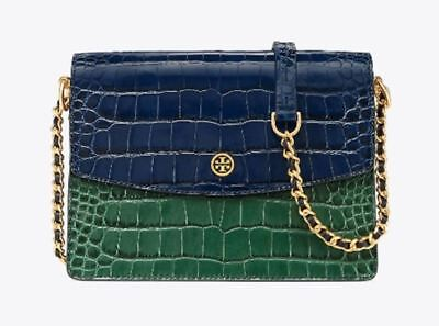 3ad38304dcc1 Tory Burch Parker Embossed Convertible Shoulder Bag for Woman with Free  Gifts