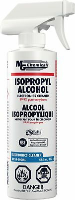 MG Chemicals 99.9% Isopropyl Alcohol Electronics Cleaner, 475 mL Trigger Spray