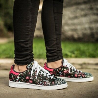 adidas Originals Ladies STAN SMITH Flower Traniers ***RRP:£81.00***