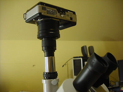 Sony α (alpha) NEX 3 NEX 5 NEX 7 camera 2 Microscope adapter E mount 23.2 mm 1""