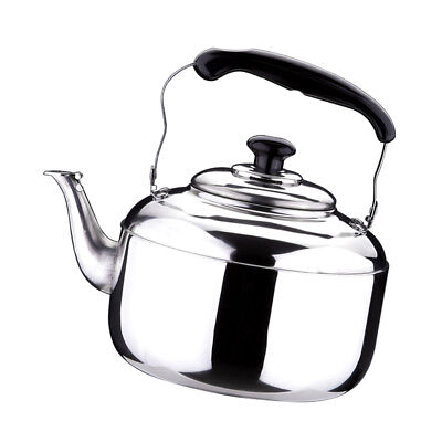 STAINLESS STEEL LARGE Whistling Tea Kettle Pot Hot Water