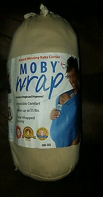 Authentic MOBY WRAP Infant Sling , Baby, Carrier,-Original Collection-NATURAL 33