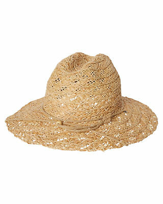New Rusty Women's Swoon Straw Hat Natural