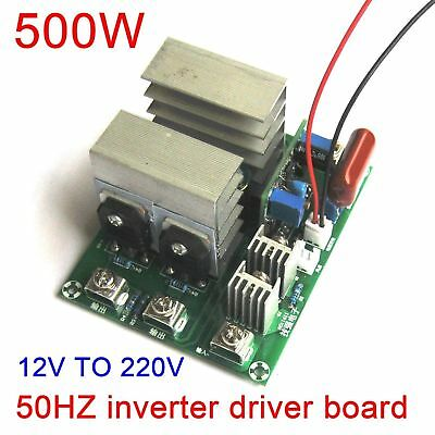 500W DC 12v to AC 220V 50HZ inverter driver board sine wave W/voltage regulator