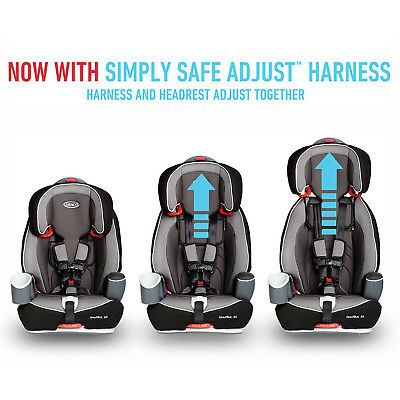 Convertible Car Seat Graco Nautilus 65 3 In 1 Harness Comfortable For Toddlers