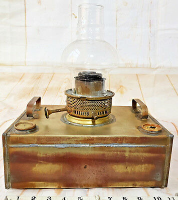 Antique Original Greenhouse Heater Oil Lamp - fully Working
