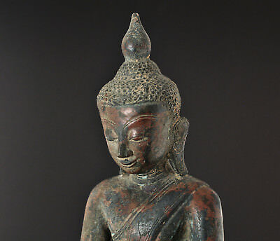 Antique Buddha, Shan, Ava, Burma / Bouddha ancient Birmanie, 18th c., Asian art