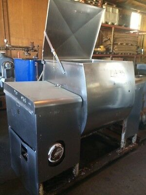 30 Cu. Ft. Stainless Steel Paddle mixer