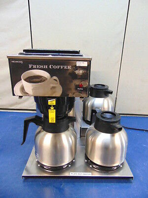 Newco 3-Station Coffee Brewer AKH-3TC With 3 Carafes ~ WORKS! ~ R431x