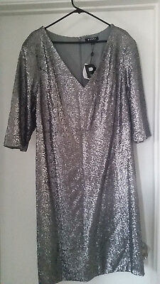 ff191ec9b3f REBEL WILSON X Angels NWT Empire Waist Sequin Dress Size 20W ...