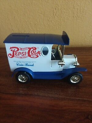 Pepsi-Cola  Delivery Car / Truck - Coin Bank