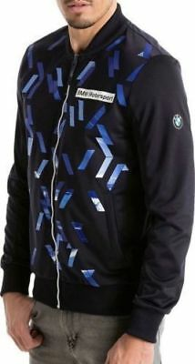 65b24c3016b New Fashion Puma BMW Motorsport Sweat Track Jacket MSP T7 Men s Navy Blue
