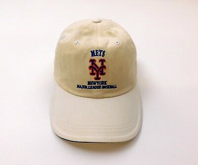 4d6e7addc46fc Vtg Puma New York Mets adjustable baseball cap Hat Mens Adult new old stock
