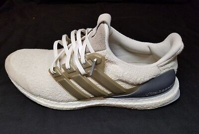 4fe4c9405f1a2 Adidas Ultraboost Lux NMD Sneakers DB0338 Consortium Yeezy SNS sz 11.5 Cream
