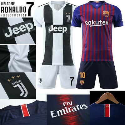 new style 2ee22 d8884 2018/19 CRISTIANO RONALDO CR7 Messi Mbappé Neymar Soccer Football Jersey  Shirts