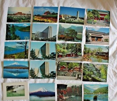 Lot of 70 JAPAN 4x6 Postcards a LOW 45c each! Plus FREE SHIPPING